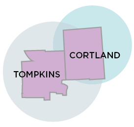 Tompkins and Cortland Counties